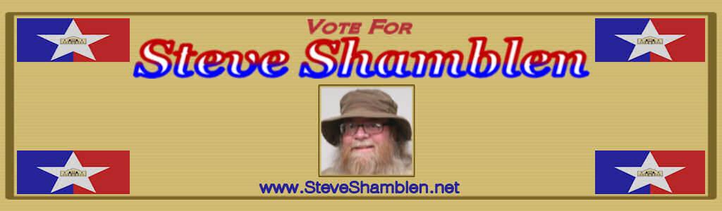 Vote For Steve Shamblen